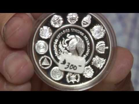 Cool Coins! US Mexican Numismatic Association Convention 2013. VIDEO: 6:49.