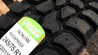 Обзор Nokian Rockproof грязевые шины 245/75 r16