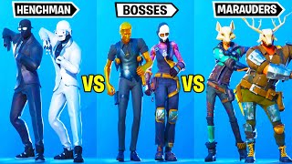 Team Henchman vs. Team Bosses vs. Team Marauders - Fortnite Dance Battle
