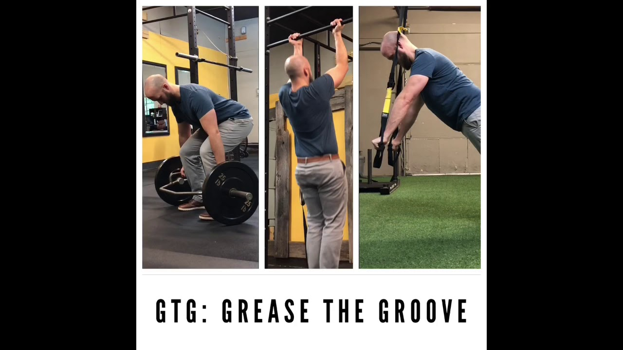 Grease The Groove - Trap Bar Deadlifts, Pull-ups, Push-ups
