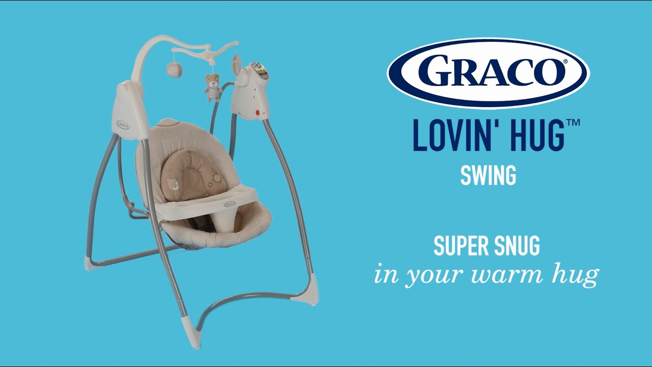 Graco® Lovin' Hug™ Cosy And Snug Swing That Feels Like Mum