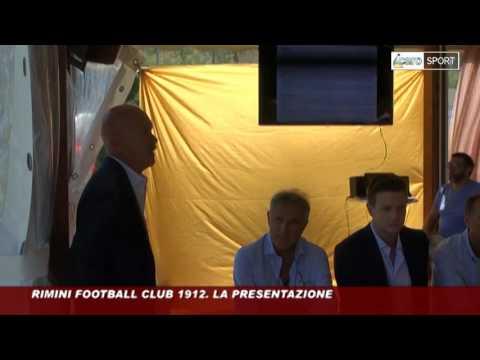 Icaro Tv. Rimini Football Club 1912: la presentazione della nuova società