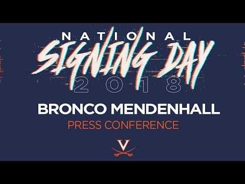 FOOTBALL: Signing Day Press Conference - February 7, 2018