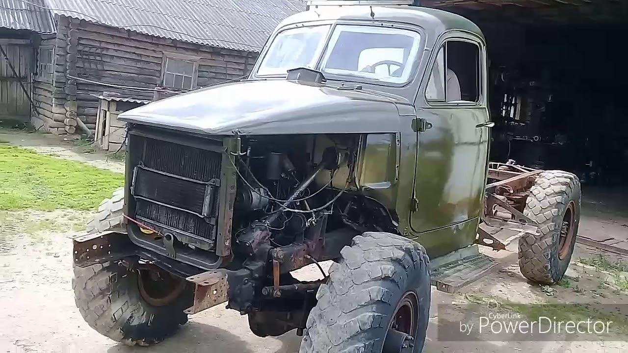Реставрация ретро автомобиля.