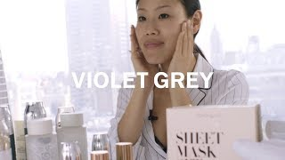 Violet Grey's 10-Step Korean Skin Care Routine, curated by Alicia Yoon