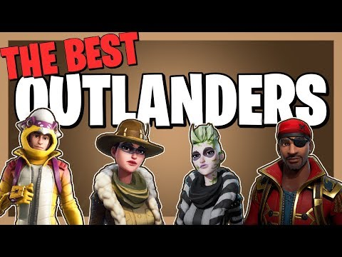 The BEST OUTLANDERS In Fortnite Save The World!