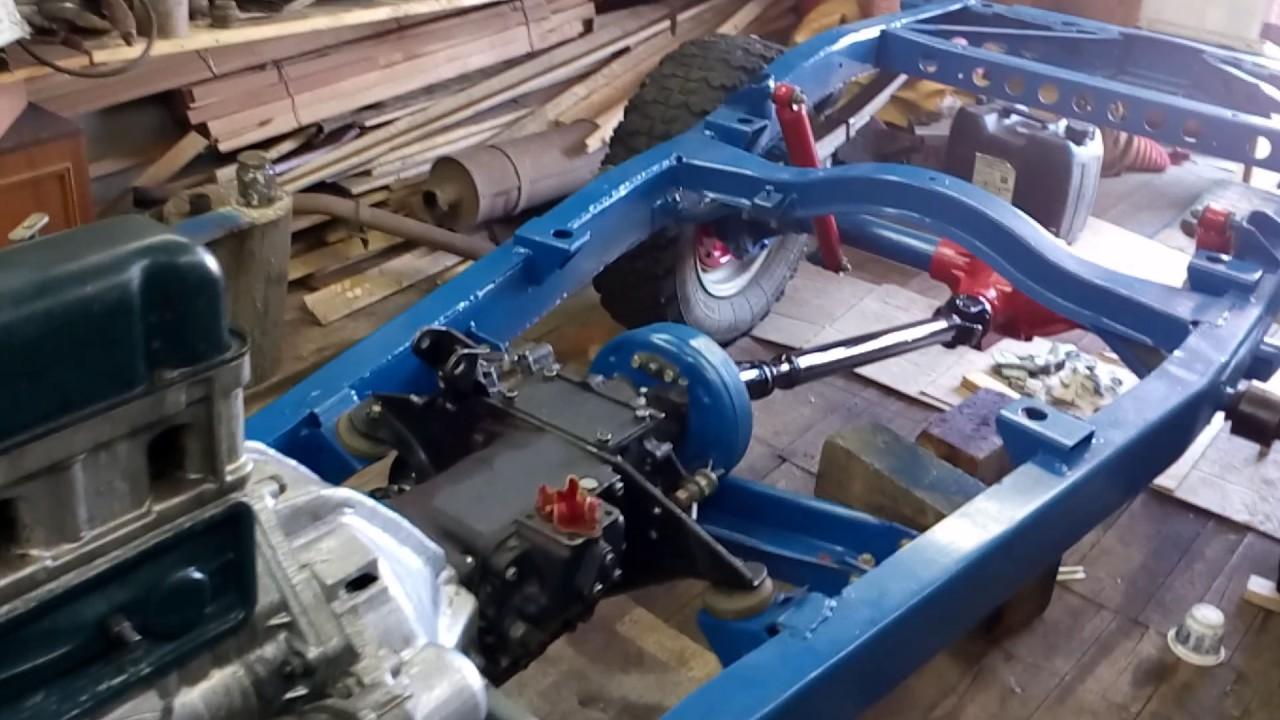 Уаз тюнинг бомба)))Капитальный ремонт Уаз 31514 часть 3 сборка