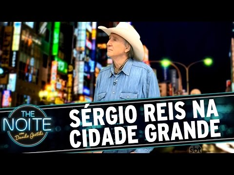 The Noite (14/10/15) - Papo de Caipira: Sérgio Reis na cidade grande