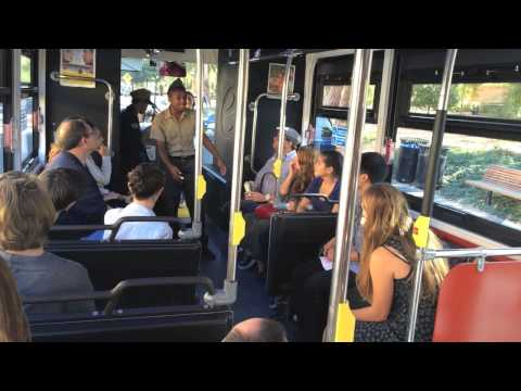 Violet: The Musical on a bus at Stanford University