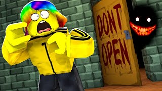 I opened this door and ALMOST PEED my PANTS! (Roblox)