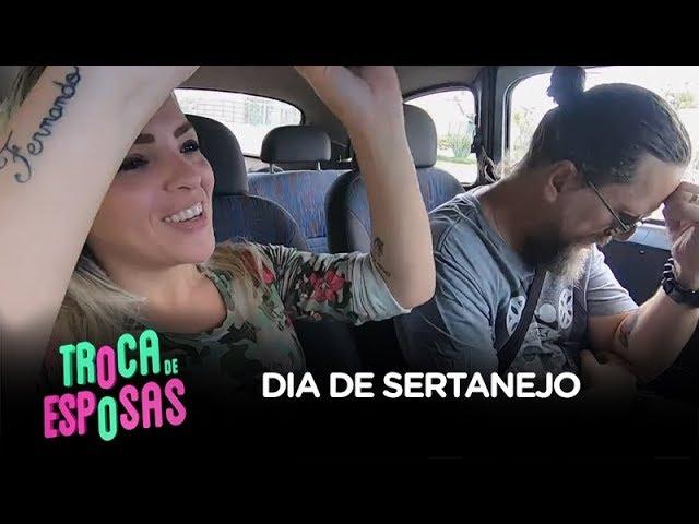 Vanessa veta músicas de rock e coloca Canisso para dançar sertanejo