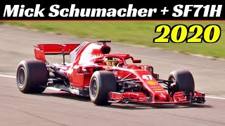This afternoon, wednesday 30 september 2020, mick schumacher underwent some tests aboard the 2018 ferrari sf71h. together with him, two other young drivers f...
