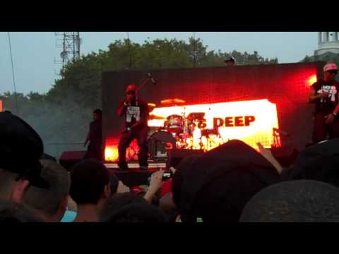 Mobb Deep ft Big Noyd  Give Up the Goods *Rock the Bells 2011* Governors Island, NY 090311
