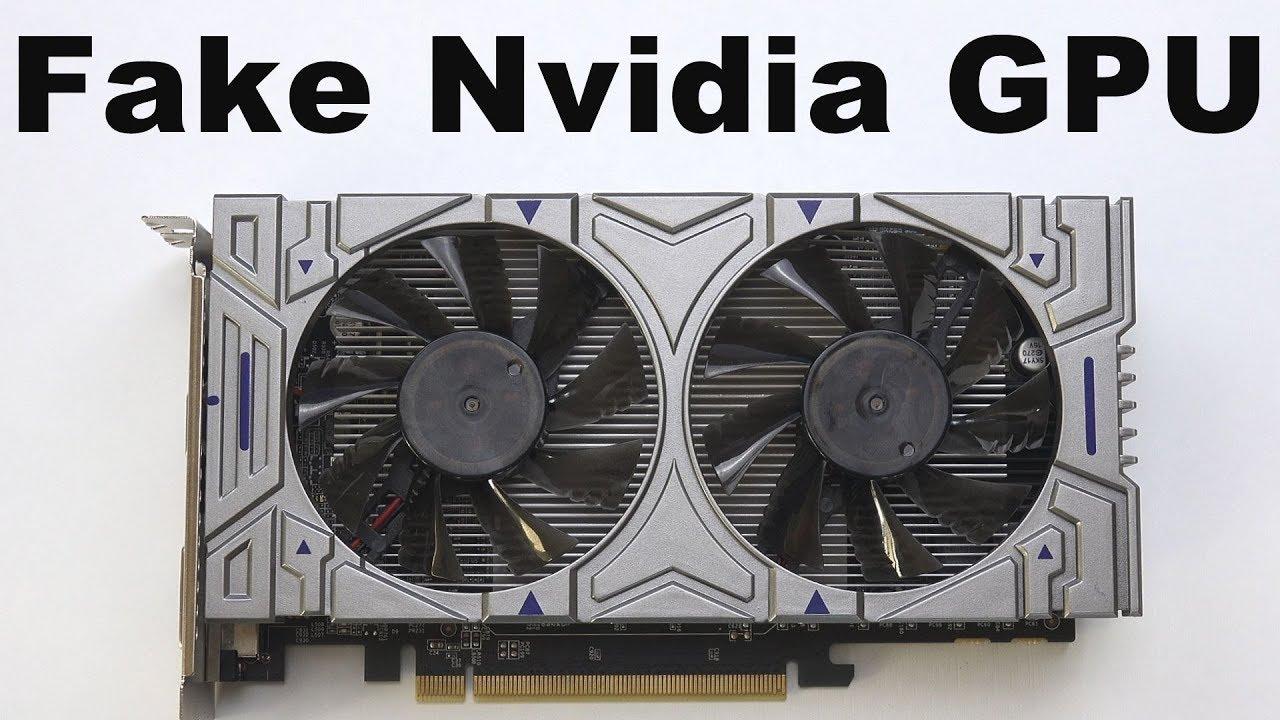 Fake Nvidia Graphics Card - Amazon Scam Warning GTX 1050 GPU & How to Tell