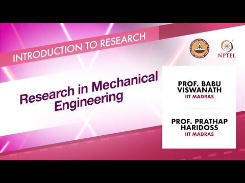 Research in Mechanical Engineering