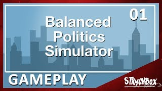Let's play Balance Political Simulator | Part 1 - Make Decisions