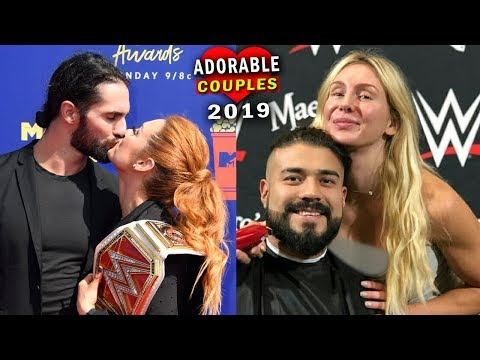 10 Most Adorable WWE Couples 2019 - Seth Rollins & Becky Lynch, Charlotte Flair & Andrade