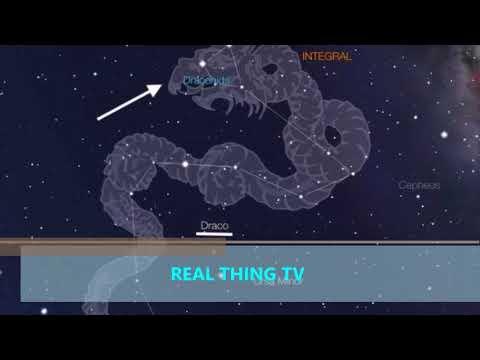 Draconid meteor shower 2017 Draco the Dragon
