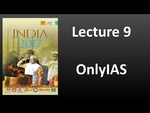 Lecture 9, India Year Book 2017