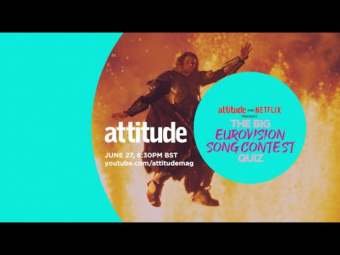 The Big Eurovision Song Contest Quiz – Attitude & Netflix Present Eurovision Legends | Pride At Home