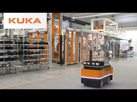 Autonomous transportation with mobile robot KMR iiwa