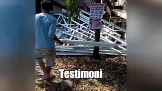 baja ringan g550 testimoni menggunakan gigasteel profile z youtube