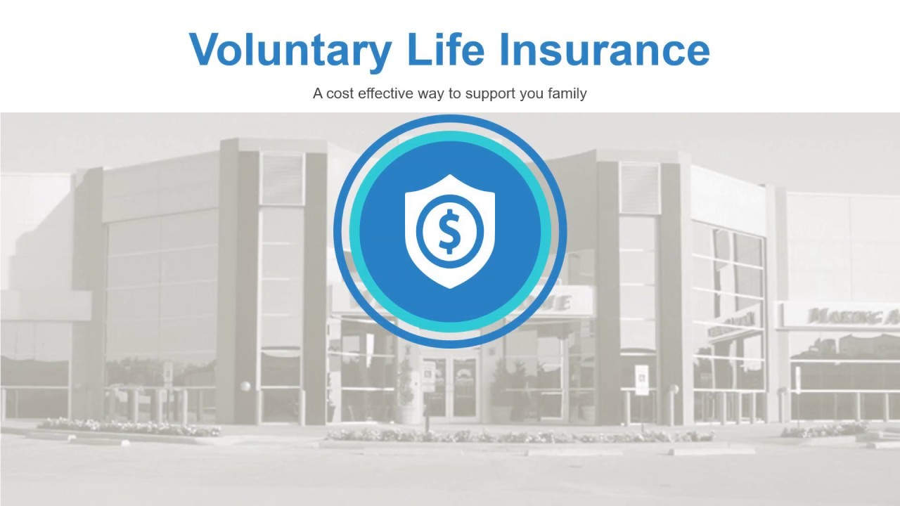 Voluntary Life Insurance - YouTube