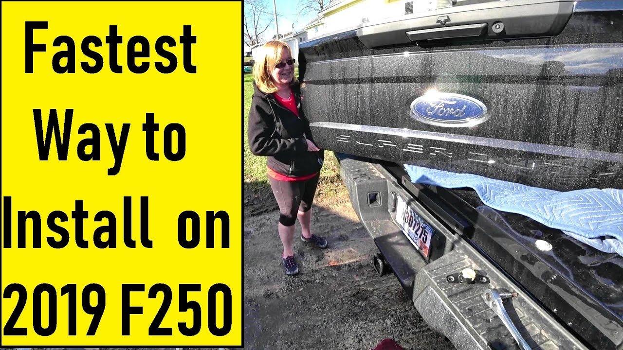 Truck Tailgate Assist Lift Shock Strut for 43205 2017 2018 2019 Ford F-250 Super Duty /& F-350 Super Duty