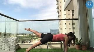 Йога на стуле, инструктор Яна Лев, Израиль 🇮🇱#YOGISWithoutBorders
