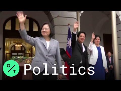 Taiwan President Tsai Ing-wen Sworn in For Second Term