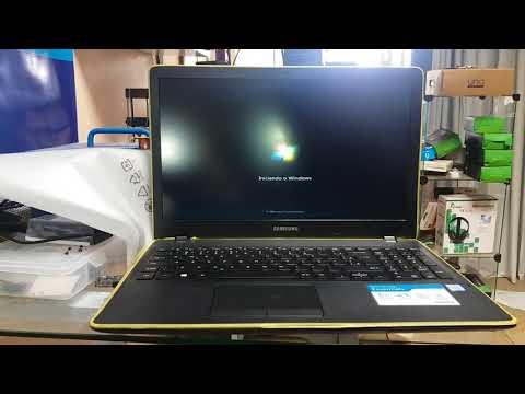 Downgrade em notebook samsung NP300E5L