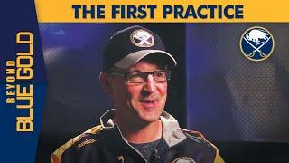 Dan Bylsma's First Practice   Buffalo Sabres   Beyond Blue & Gold
