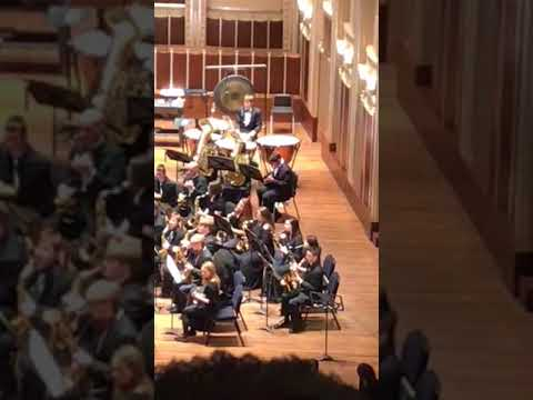 Hannah Wren in Cleveland Youth Wind Symphony