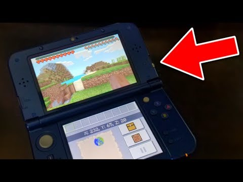 PLAY MINECRAFT ON THE NEW 3DS!