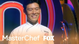 Jason Enters The MASTERCHEF Kitchen During The Finale | Season 8 Ep. 20