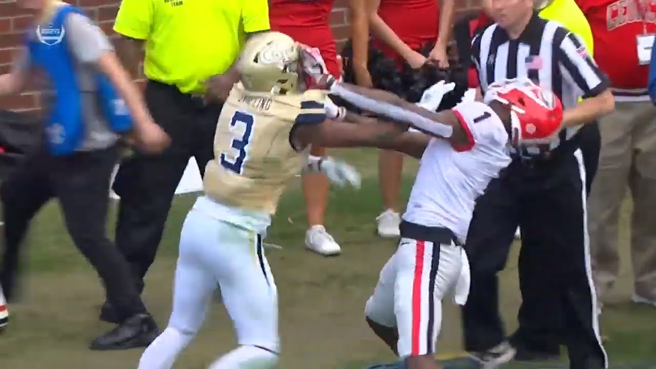 Georgia receiver ejected George Pickens after being involved in ...