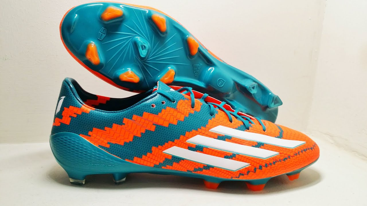 NEW 2014/15 Messi Boots: Adidas Messi 10.1 MIROSAR10 - Unboxing by  KimFootball - YouTube