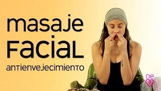 Masaje facial antivejecimiento | Maryan Rojas