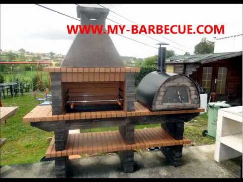 Stone Barbecue With Wood Fired Pizza Oven MAXIMUS Stone Barbecue And Oven