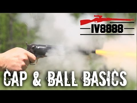 Cap and Ball Revolver Basics