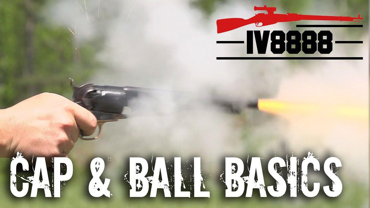 Cap and Ball Revolver Basics