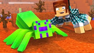 O ZUMBI VIROU UMA ARANHA !! - [ Vida de Aranha #13 ] - Minecraft