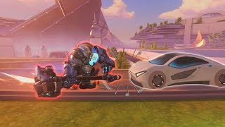 [Overwatch] Reinhardt Vs. Traffic