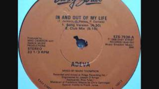 Adeva - In And Out Of My Life (Club Mix) 1988