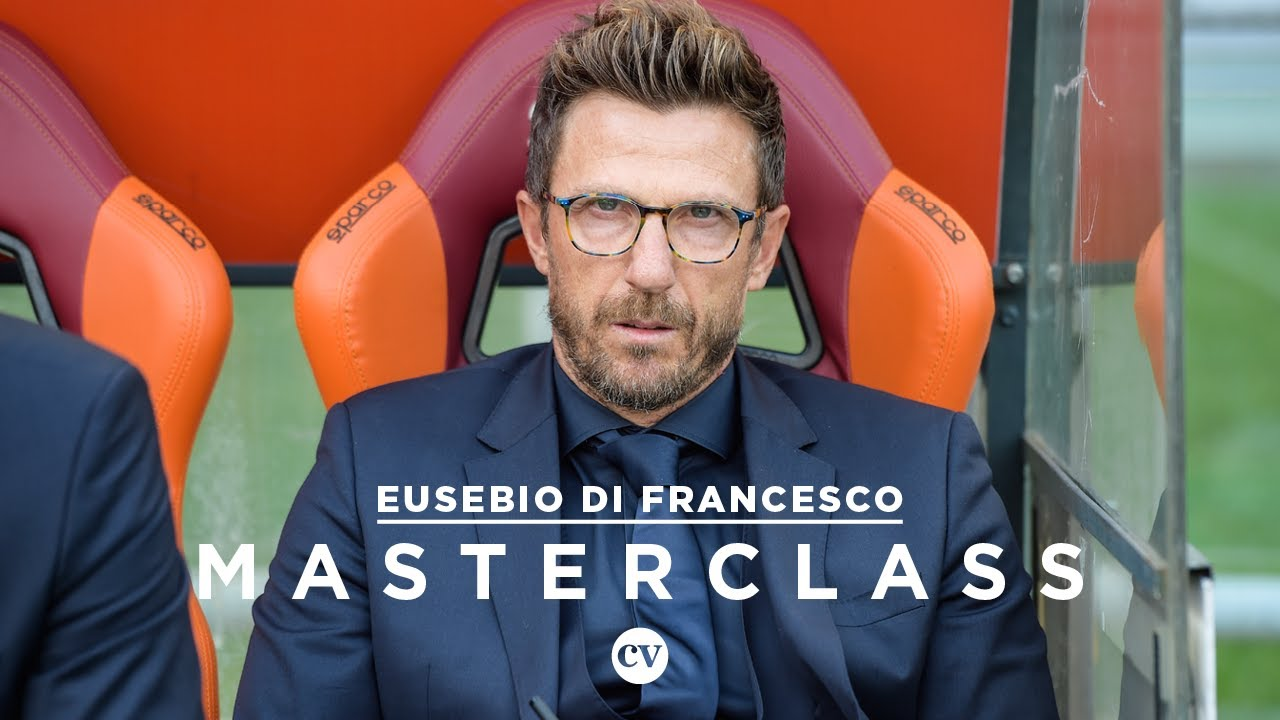 di francesco begon met voetballen bij de. Eusebio Di Francesco Tactics Roma 3 Chelsea 0 Masterclass Youtube