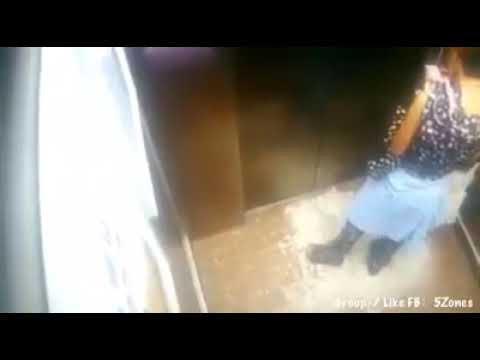 Hati-hati di lift