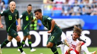 FIFA WORLD CUP 2018. AUSTRALIA vs DENMARK MATCH official highlights. FIFA 2018 OFFICIAL GAMEPLAY