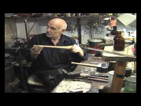 Интервью с мастером музыкальных инструментов, Дербент, Дагестан