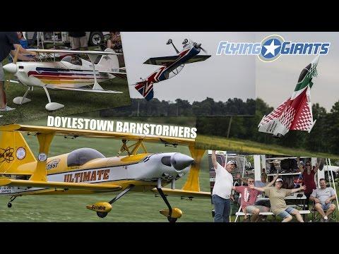 Doylestown Barnstormers Spring Fling 3D Meltdown - FlyingGiants Video Coverage