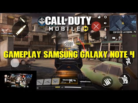 Call Of Duty: Mobile I Gameplay Samsung Galaxy Note 4